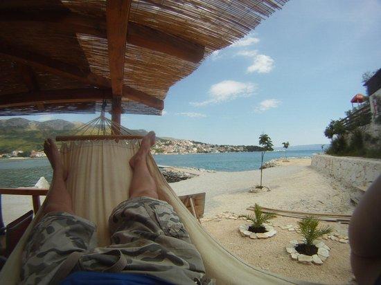 Opensea Diving: relaxing after diving..