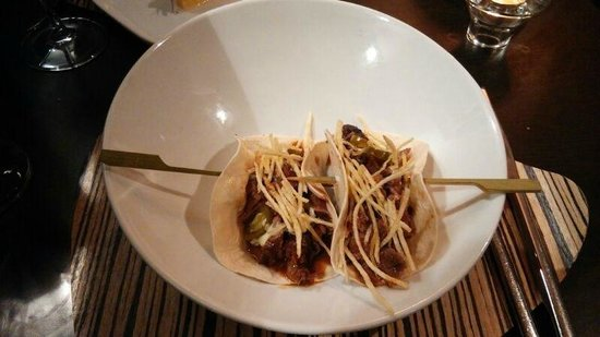 Metro Bistro - Templo de Debod: Tacos de Osobuco con jalapeños
