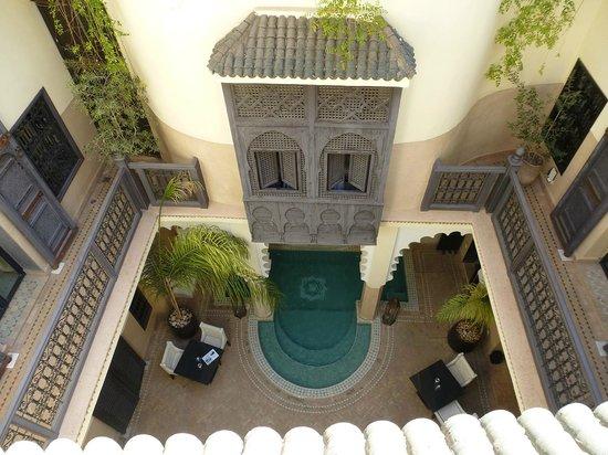 Riad Ambre et Epices: le court