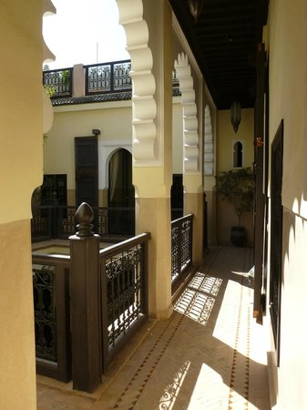 Riad Ambre et Epices : 1er etage avec les chambres