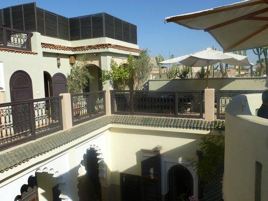 Riad Ambre et Epices : la terrasse