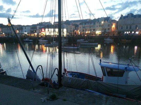 Camping La Boutinardiere : port de Pornic