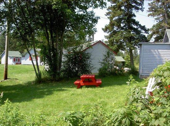 Riverview Cottages: Picnic Table