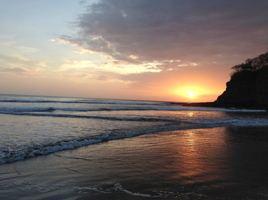 Costa Dulce : sunset before bonfire