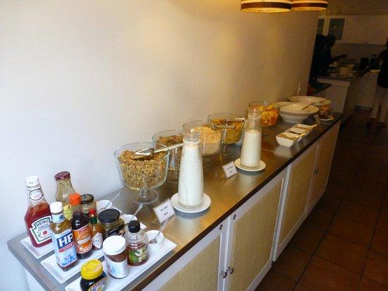 An African Villa: Breakfast area