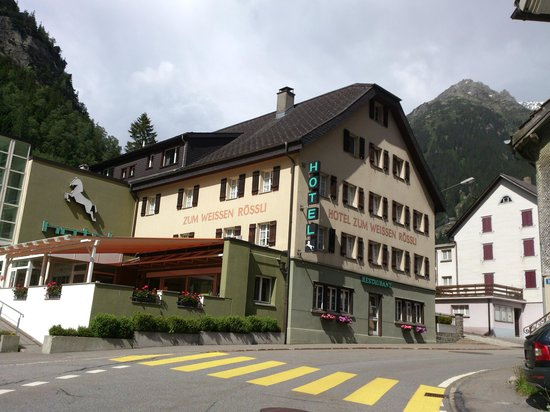 Hotel Zum Weissen Rossli: Göschenen - Hotel Zum Weissen Rössli