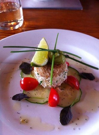 The Lindisfarne Inn: little taste of art on a plate