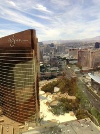 Encore At Wynn  Las Vegas: View from our 62nd Floor Room