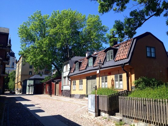 Södermalm: Mäster Mikaels Gatan