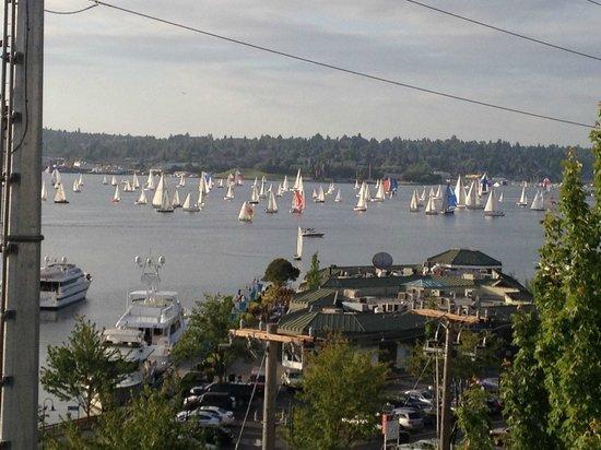 Residence Inn Seattle Downtown/Lake Union: Harbor View