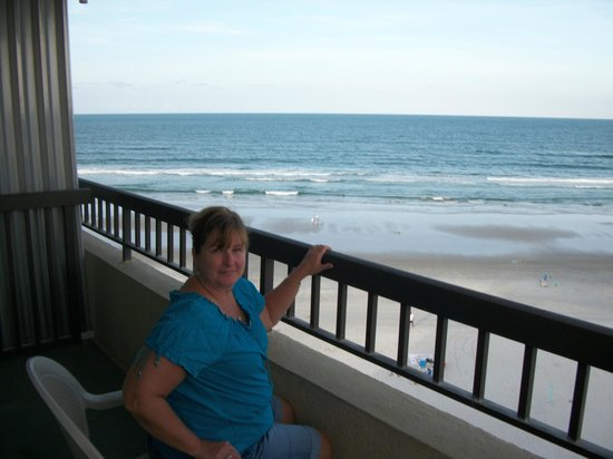 BEST WESTERN New Smyrna Beach Hotel & Suites: View from our balcony