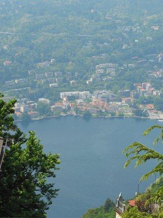 Funicolare Como-Brunate : Vista do Lago de Como