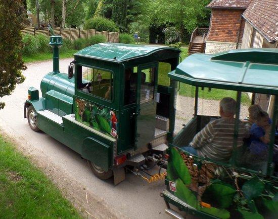 Parc Zoologique Cerza : le petit train