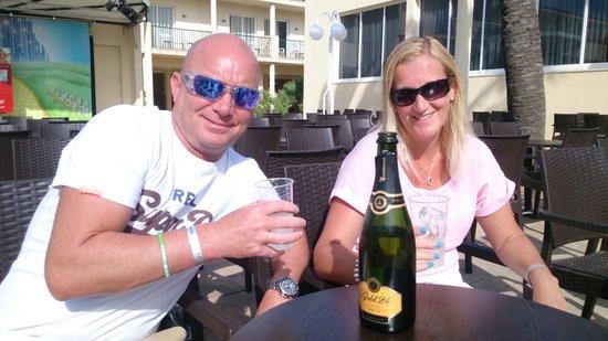 Occidental Ibiza: prize drinking