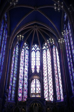 Sainte-Chapelle : inside saint chapelle