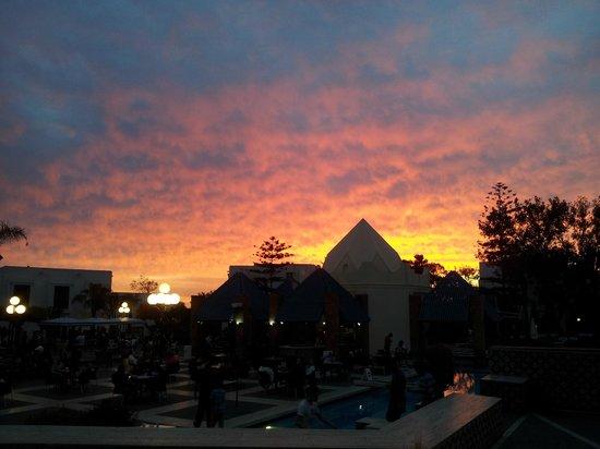 Caribbean Village Agador : Sky at 8.15pm