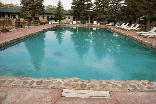 Saratoga Hot Springs Resort: Natural mineral warm springs onsite