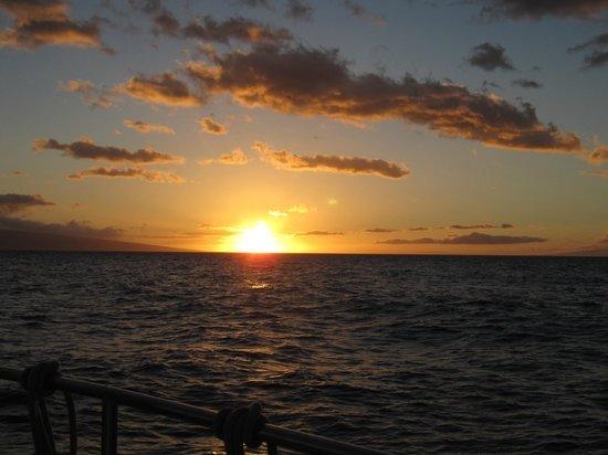 The Westin Kaanapali Ocean Resort Villas: Maui Sunset from Westin Kaanapali Ocean Resort Villas