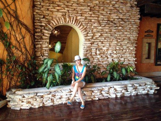 Eurostars Hacienda Vista Real: En el lobby