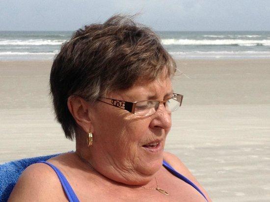Beach at Daytona Beach: Lovin it