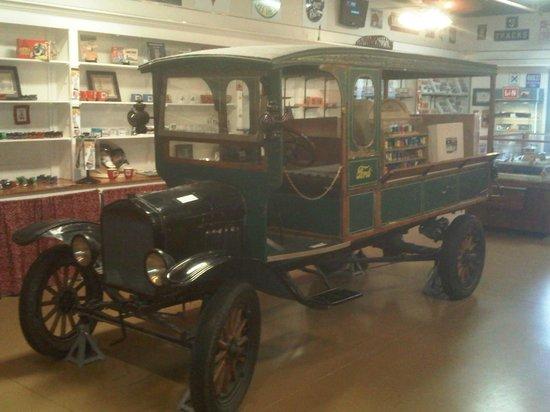 Casey Jones Village: Museum display items