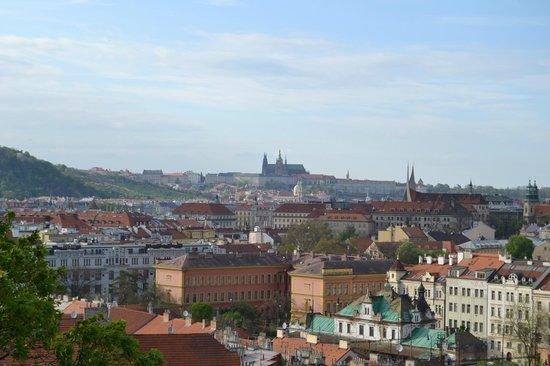 Monumento Cultural Nacional Vysehrad: Вид на Прагу