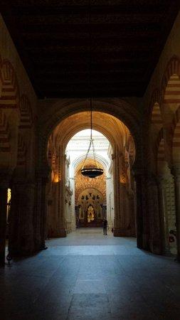 Cathédrale de Cordoue : Durchblick