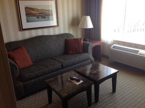 Holiday Inn Express and Suites Astoria : Living area