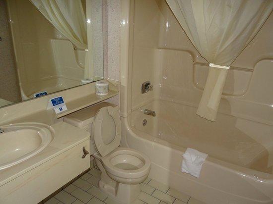 Comfort Inn Sherbrooke: Bathroom