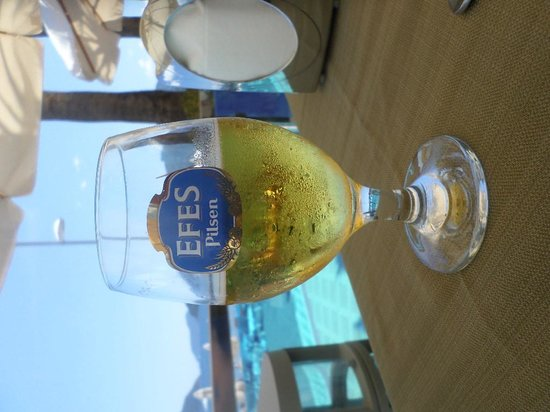 Hotel Marbella: And the lager is good