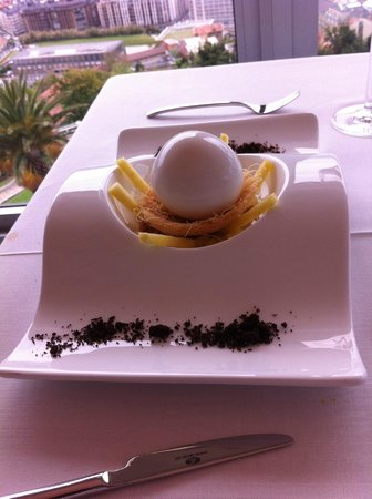 Mirador de Ulia: Dessert coco et glace