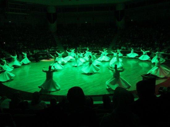 Konya Dervish Otel: Whirling Dervish in action