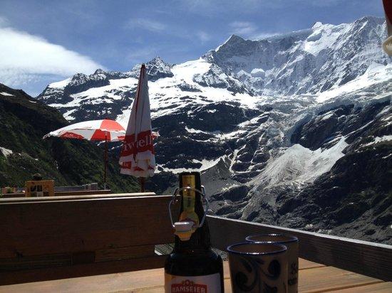 Restaurant Berghaus Baregg: Can't beat the view