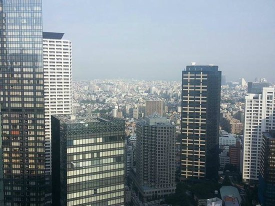 Hilton Tokyo: From my room on 35th Floor