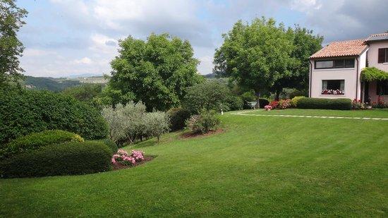 Bed and Breakfast Villa Beatrice: greeeeen