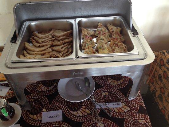 Cristal Resort: Breakfast