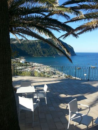 Terrazza veranda ristorante - Picture of Hotel Terme Royal Palm ...