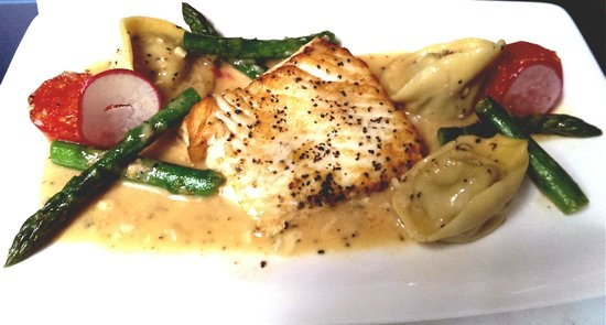 The Nest Bistro: Halibut