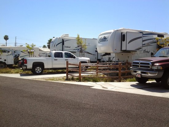 Olive Avenue RV Resort: example of spaces