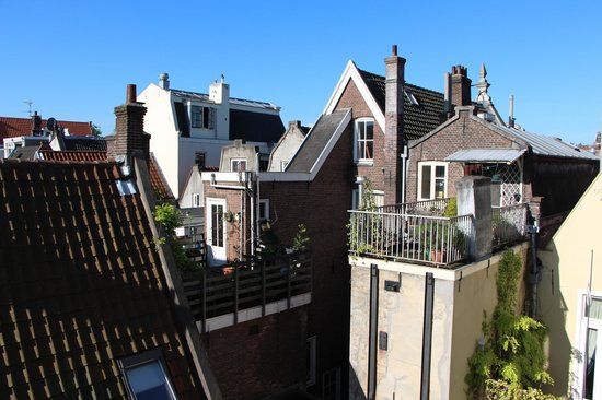 Prinsenhof: The view from our room