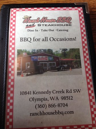 Ranch House BBQ: Great BBQ
