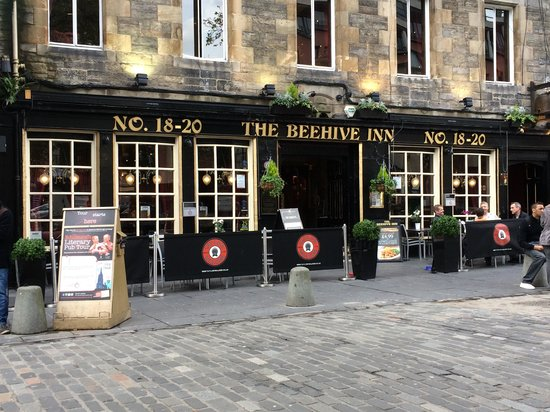 Meeting point for Edinburgh Literary Pub Tour