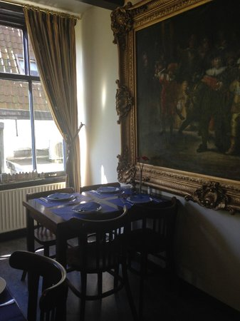 Prinsenhof: Dining room