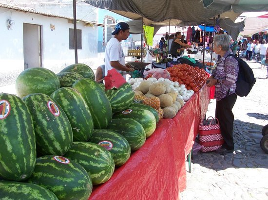 Ajijic, México: Chapala market, Mondays