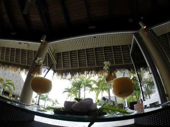 InterContinental Resort & Spa Moorea: Check in