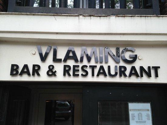 Restaurant Vlaming: Front of the restaurant