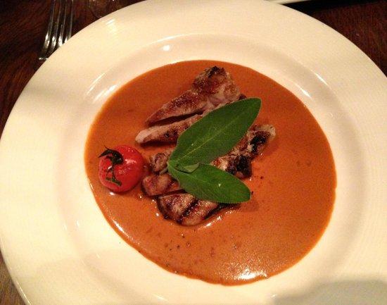Restaurant Vlaming: Roasted Tomato Basil soup
