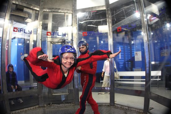 iFLY Orlando : the smile says it all