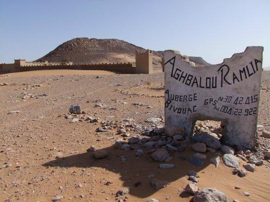 Aghbalou Ramlia Auberge : Blick aufs Gästehaus von Ramlia kommend