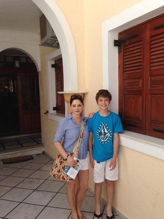 Antonia Hotel Santorini: Antonia Hotel main entrance
